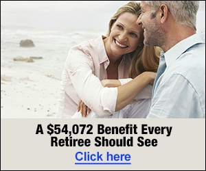 A $54,072 Benifit Every Retiree Should See