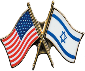 [US Israel Flag Pin] Solidarity with Israel