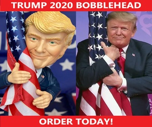 Trump 2020 Bobblehead.
