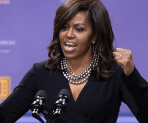 Michelle Obama Leaves The Audience Shocked