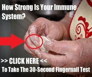 30-second fingernail test rates your immune health
