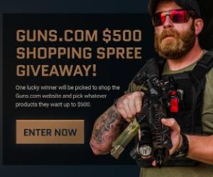 Enter To Win Guns.com Shopping Spree!