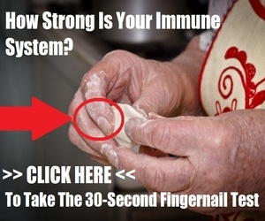 30-second fingernail test rates your immune health