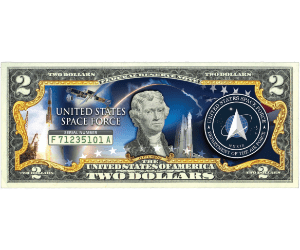 Claim Your Trump 'Space Force' $2 Bill